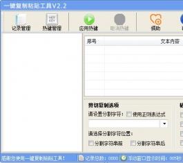 一键复制粘贴工具 V2.2 简体中文绿色免费版