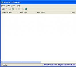 WirelessKeyView(无线密匙恢复) V1.70 英文绿色免费版