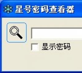 星号密码查看器 V1.3.3 免费版