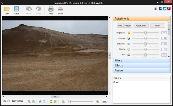 Program4Pc PC Image Editor(图片编辑软件)电脑版下载|Program4Pc PC Image Editor免费版下载V6.0.0.0